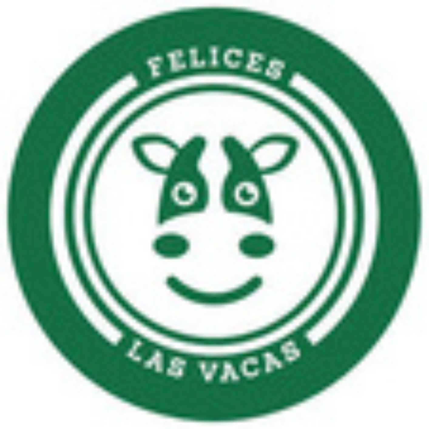2- felices las vacas